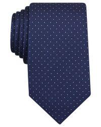 Perry Ellis - Blue Men's Austin Dot Classic Tie for Men - Lyst