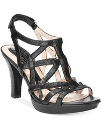 Naturalizer | Black Danya Sandals | Lyst