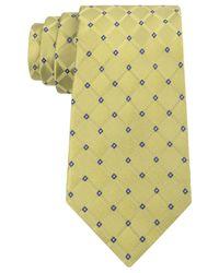 Michael Kors | Green Men's Square Neat Classic Tie for Men | Lyst