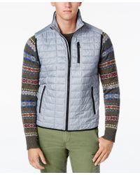 Tommy Hilfiger | Gray Men's Beekman Insulator Vest for Men | Lyst