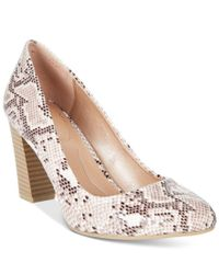 Style & Co. | Multicolor . Asyaa Block-heel Pumps, Only At Macy's | Lyst
