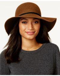 Nine West | Black Felt Tassel Floppy Hat | Lyst
