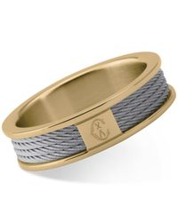 Charriol | Multicolor Women's Forever Two-tone Pvd Stainless Steel Cable Ring | Lyst