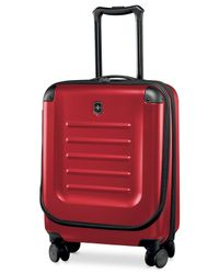 "Victorinox | Red Victorinox Spectra 2.0 22"" Expandable Hardside Carry-on Spinner Suitcase 