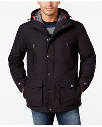 London Fog   Blue Men's 3-in-1 Hooded Coat for Men   Lyst