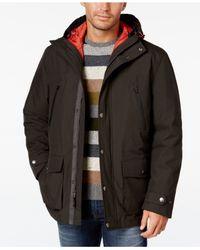 London Fog   Multicolor Men's 3-in-1 Hooded Coat for Men   Lyst