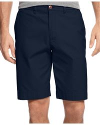 Tommy Hilfiger | Blue Men's Big And Tall Chino Shorts for Men | Lyst