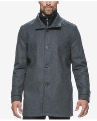 Marc New York | Gray Strafford Wool-blend Bibby Car Coat for Men | Lyst