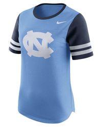 Nike - Blue Women's North Carolina Tar Heels Gear Up Modern Fan T-shirt - Lyst