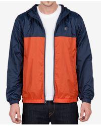 Volcom | Blue Men's Ermont Hooded Jacket for Men | Lyst