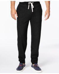 Tommy Hilfiger - Black Men's Hancock Drawstring Sweatpants for Men - Lyst