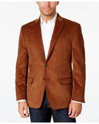 Lauren by Ralph Lauren   Brown Men's Classic-fit Corduroy Sport Coat for Men   Lyst