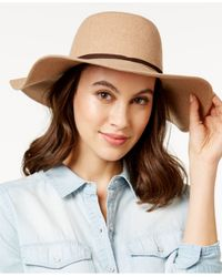 BCBGeneration | Brown Charming Flannel Floppy Hat | Lyst