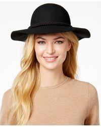 August Accessories | Black It Girl Tassel Felt Floppy Hat | Lyst