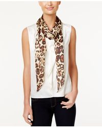 Vince Camuto | Multicolor Leopard Life Oblong Scarf | Lyst