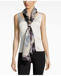 Vince Camuto | Multicolor Dream Floral Oblong Scarf | Lyst