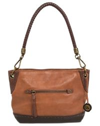 The Sak | Brown Indio Leather Demi Bucket Bag | Lyst