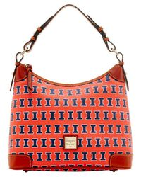Dooney & Bourke - Orange Hobo Bag - Lyst