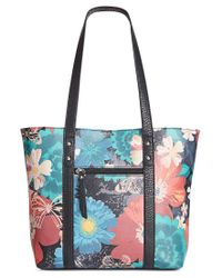 Style & Co. | Blue Perrie Tote, Only At Macy's | Lyst