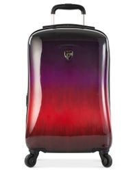 """Heys - Multicolor Ombre Sunset 21"""" Expandable Carry-on Hardside Spinner Suitcase - Lyst"""