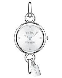 COACH - Metallic Women's Delancey Stainless Steel Bracelet Watch 28mm 14502477 - Lyst