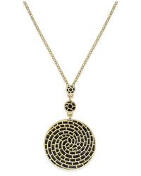 Charter Club | Metallic Gold-tone Colored Spiral Necklace | Lyst