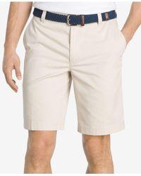 Izod | Natural Men's Saltwater Shorts for Men | Lyst