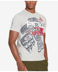 Polo Ralph Lauren | White Polo Sport Men's Jersey Graphic-print T-shirt for Men | Lyst