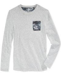 American Rag | Gray Men's Thermal Pocket T-shirt, Only At Macy's for Men | Lyst