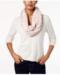 BCBGeneration | Multicolor Thick And Thin Infinity Loop Scarf | Lyst