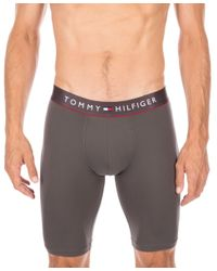 Tommy Hilfiger | Gray Long Boxer Briefs - 09t2915 for Men | Lyst