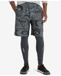 """Polo Ralph Lauren   Gray Polo Sport Men's 10-1/4"""" Body-mapped Shorts for Men   Lyst"""