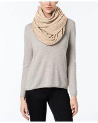 Calvin Klein | Gray Oversized Infinity Scarf | Lyst