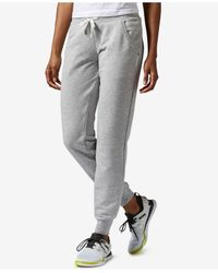 Reebok - Gray Elements French Terry Pants - Lyst