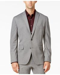 INC International Concepts | Gray Men's Tanner Slim-fit Knit Suit Jacket, Only At Macy's for Men | Lyst