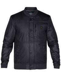Hurley | Black Men's All City Stealth Jacket for Men | Lyst