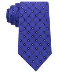 Michael Kors | Blue Michael Men's Satin Neat Tie for Men | Lyst