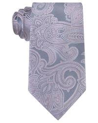 Michael Kors   Multicolor Michael Men's Scalloped Paisley Tie for Men   Lyst