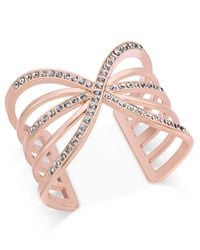 INC International Concepts | Pink Pave Cutout Cuff Bracelet, Only At Macy's | Lyst