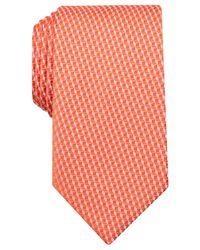 Perry Ellis - Orange Men's Royal Mini Tie for Men - Lyst