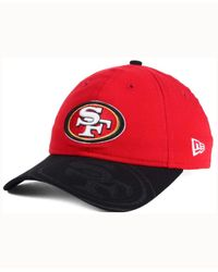 KTZ | Red Women's San Francisco 49ers Sideline Ls 9twenty Cap | Lyst