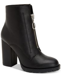 BCBGeneration - Black Pilar Block-heel Booties - Lyst