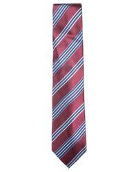 Countess Mara - Purple Men's Fieldstone Stripe Tie for Men - Lyst