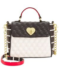 Betsey Johnson | Multicolor Top Handle Mini Bag | Lyst