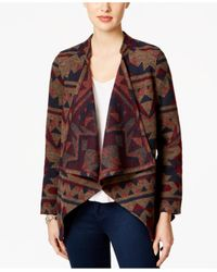 Vintage America | Multicolor Draped Patterned Jacket | Lyst