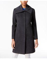 Cole Haan | Gray Clean-front Walker Coat | Lyst