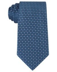 Kenneth Cole Reaction - Blue Men's Bling Dot Slim Tie for Men - Lyst