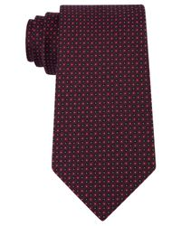Kenneth Cole Reaction   Purple Men's Micro Grid Tie for Men   Lyst