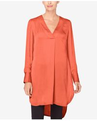 Catherine Malandrino | Multicolor High-low Tunic | Lyst