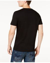 Guess - Black Let Live Graphic-print T-shirt for Men - Lyst